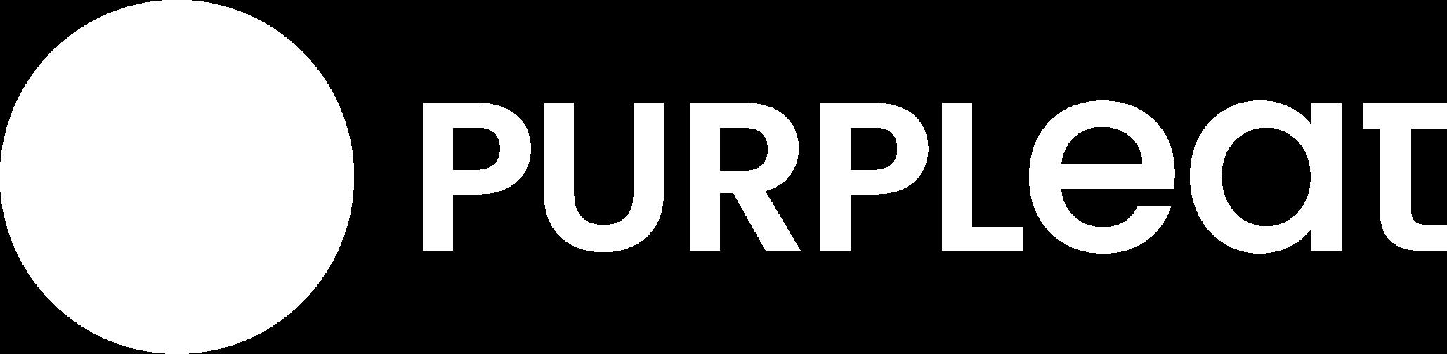 Logo bianco Purpleat